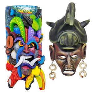Boruca Mask Show