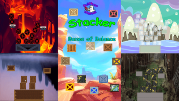 Play Stacker Tower - Boxes of Balance today