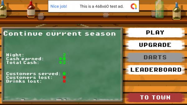 v0.21 UI overhaul and first version of darts
