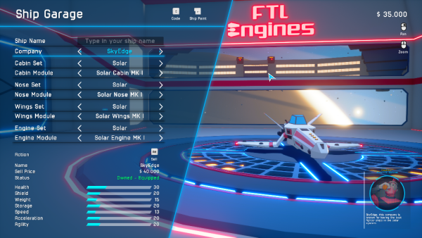 Ship Customization update!