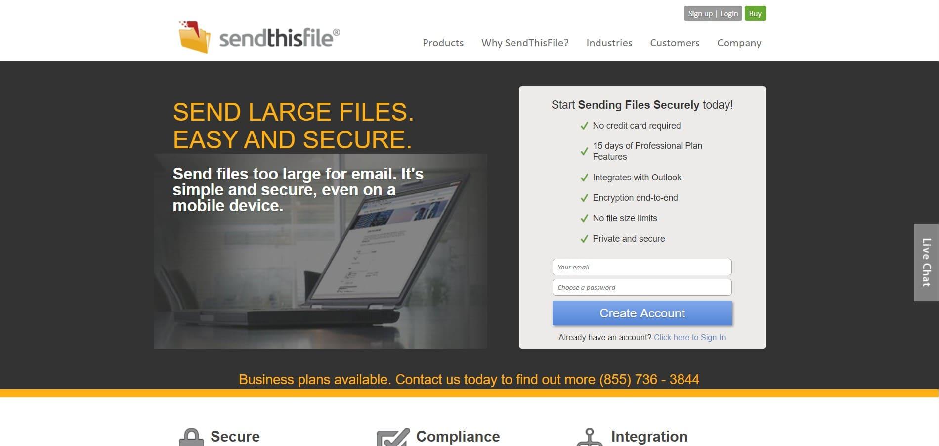 transferencia de archivos pesados