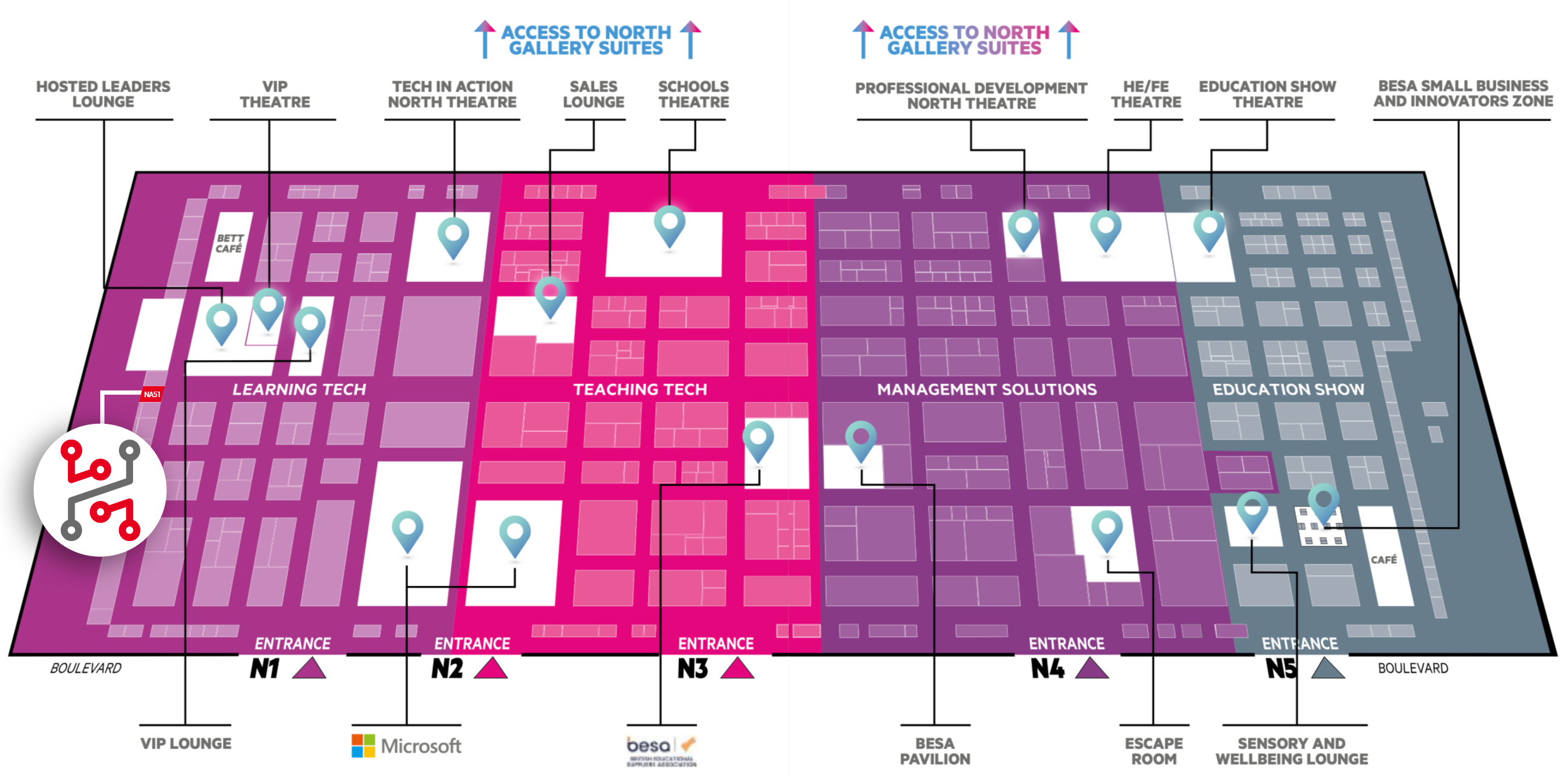 Bett Show exhibition plan
