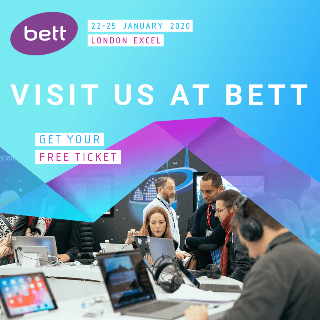 Meet us at the Bett Show London!