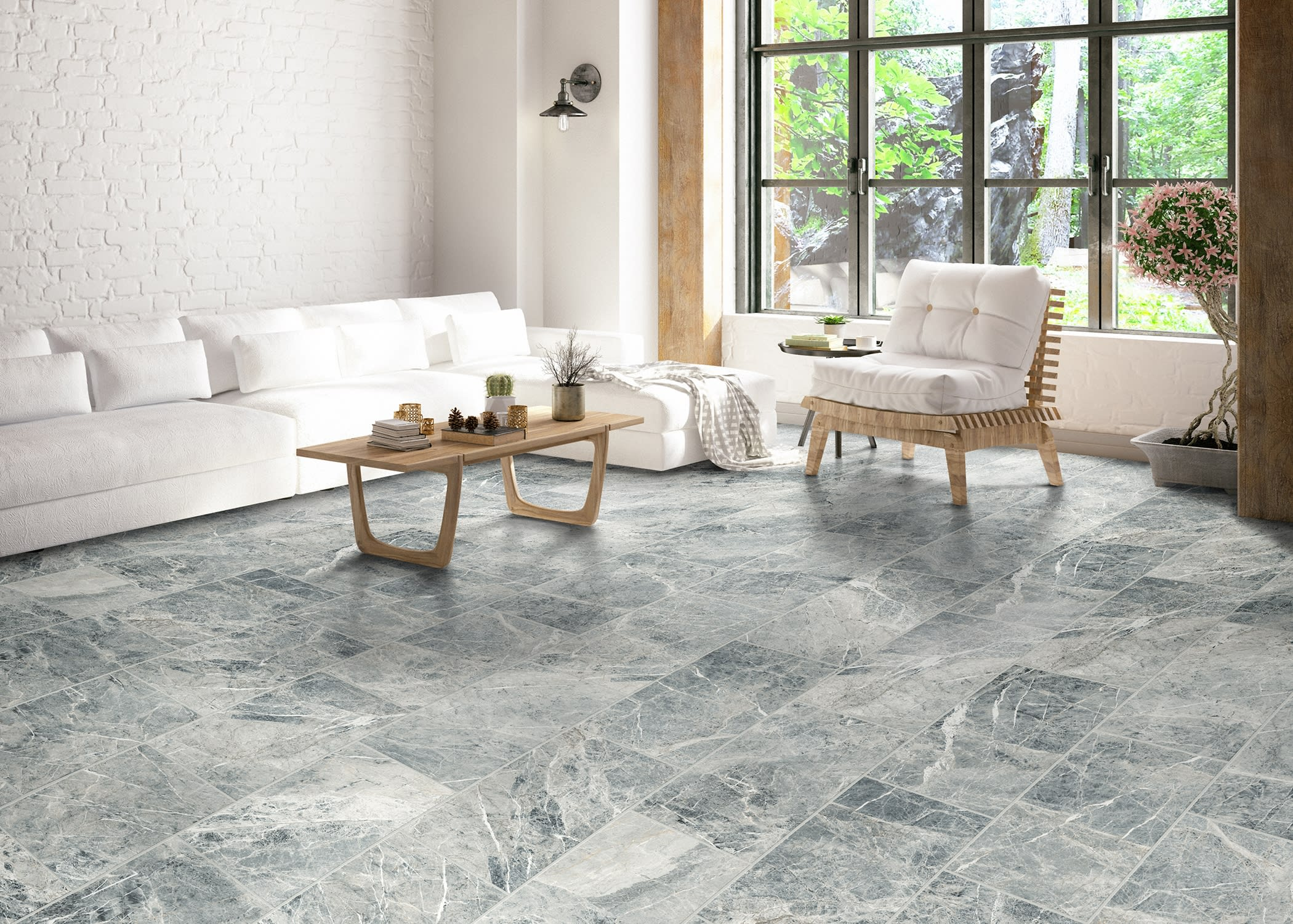 Stone-Look Tile