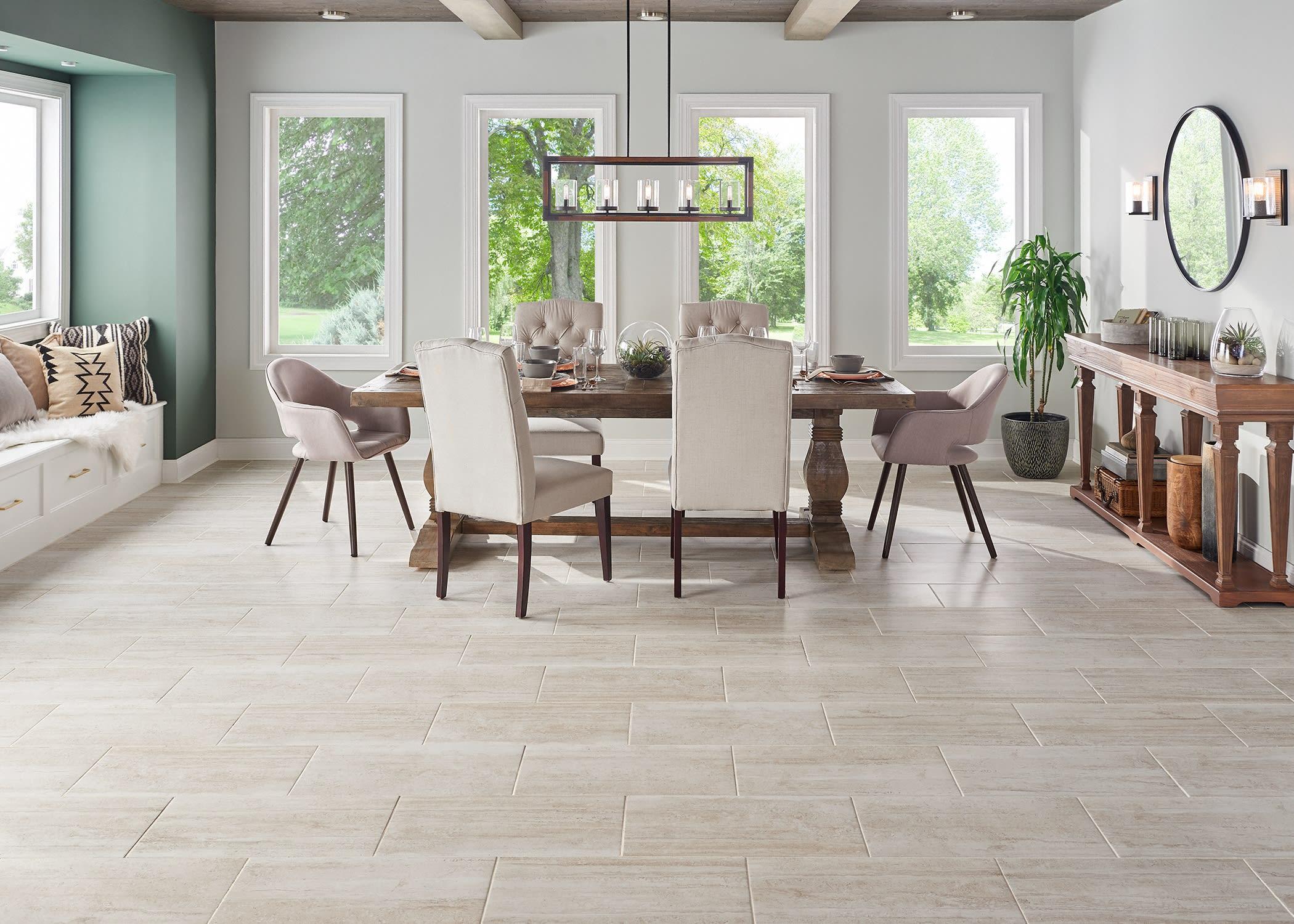 Avella Graystone Travertine Porcelain Tile
