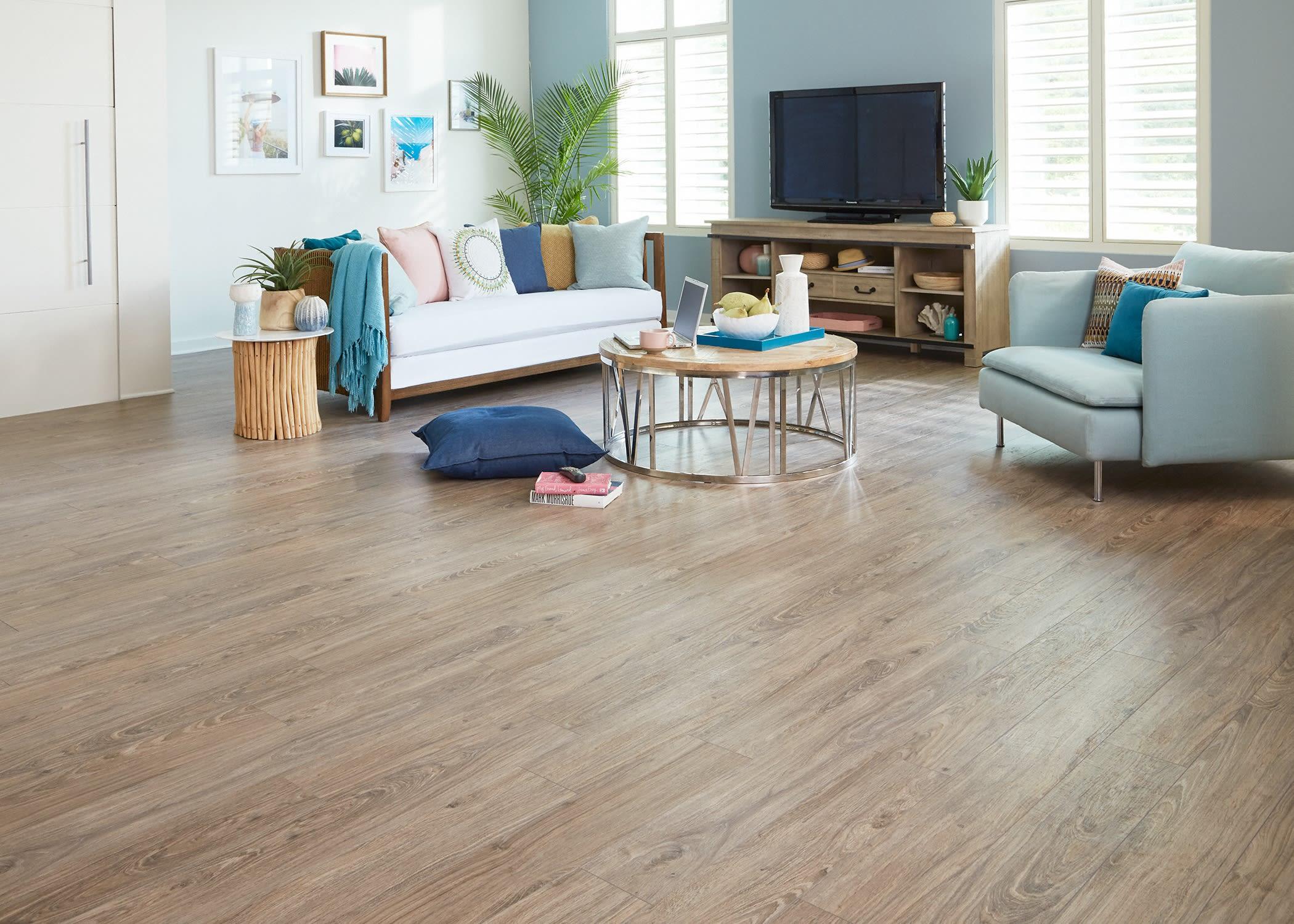 Beach Cottage Oak Laminate Flooring