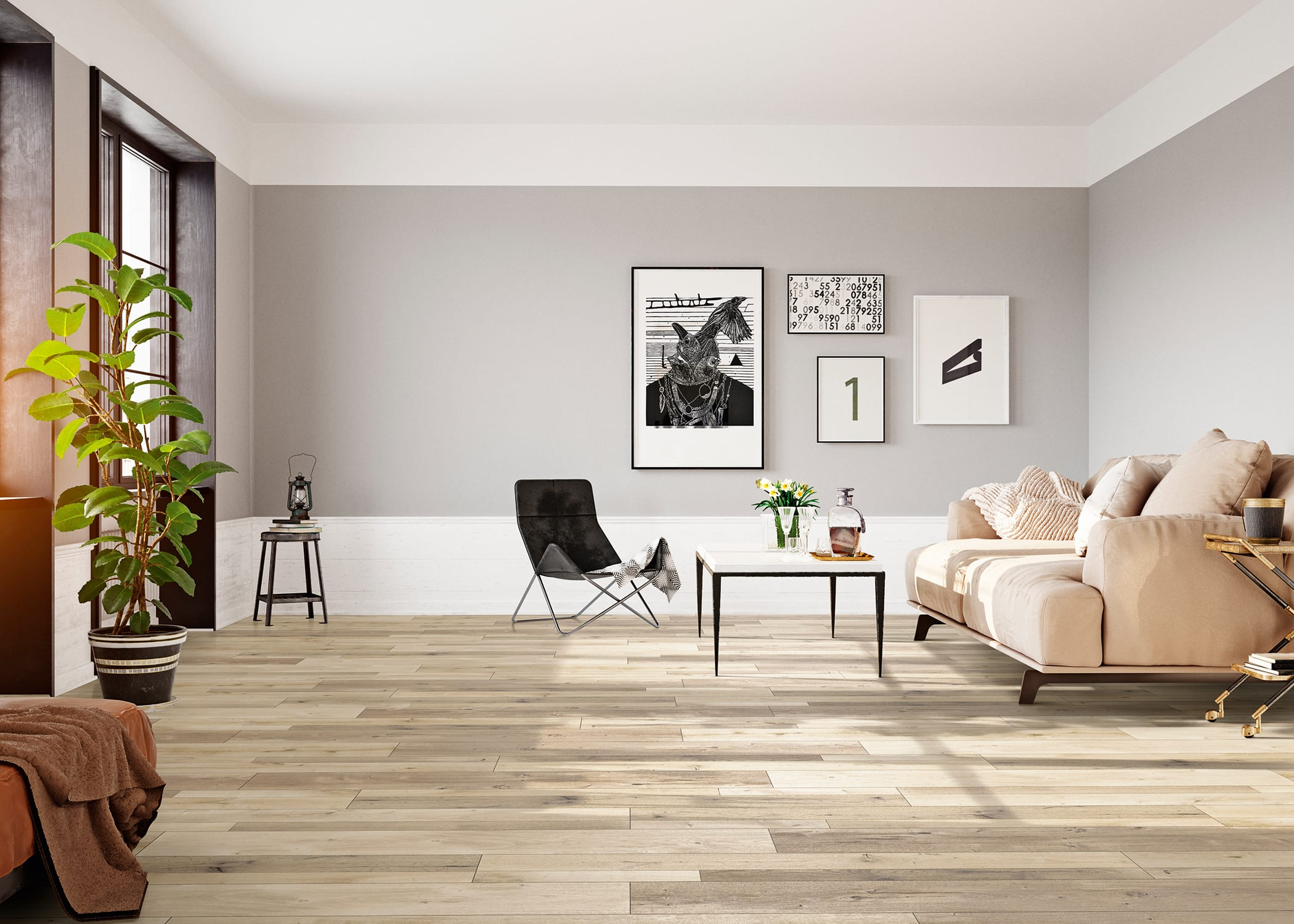Hannigan Oak Laminate Flooring