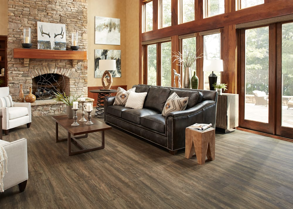 8mm Rose Canyon Pine Rigid Vinyl Plank Flooring 9.25 in. Wide x 59.75 in. Long