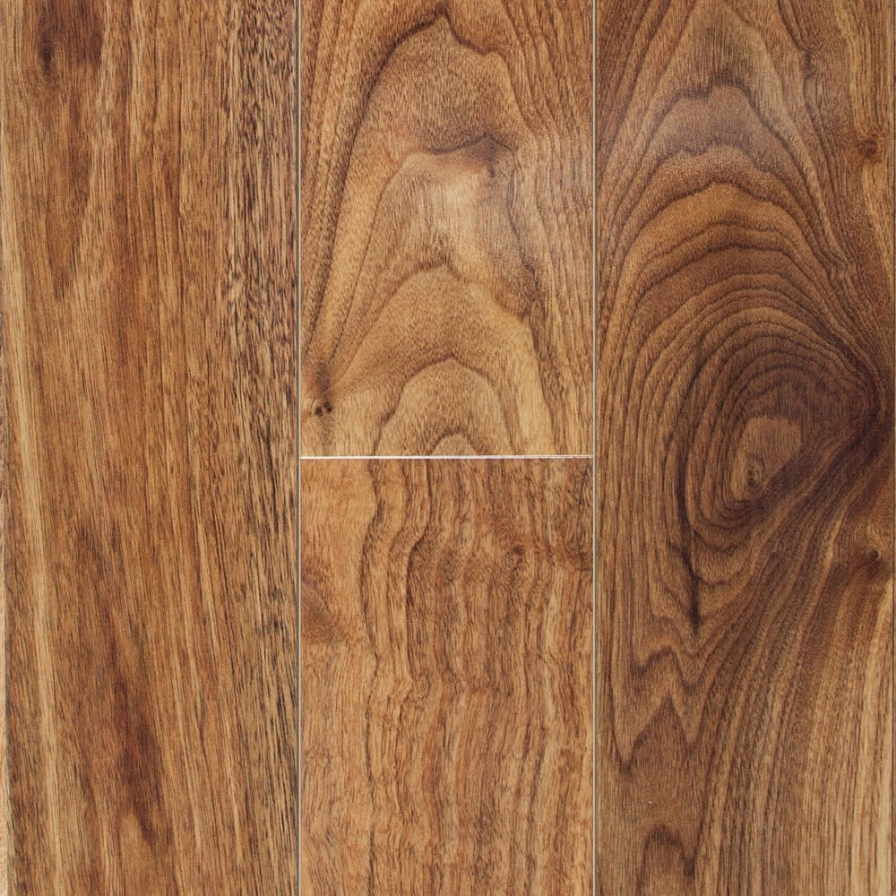 10mm Honey Walnut High Gloss Laminate Flooring
