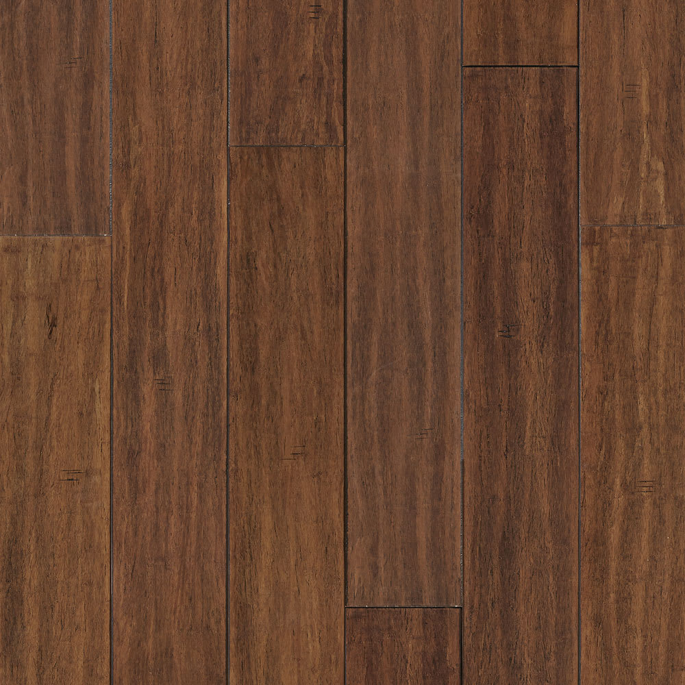 Bismark Strand Distressed Wide Plank Solid Bamboo Flooring