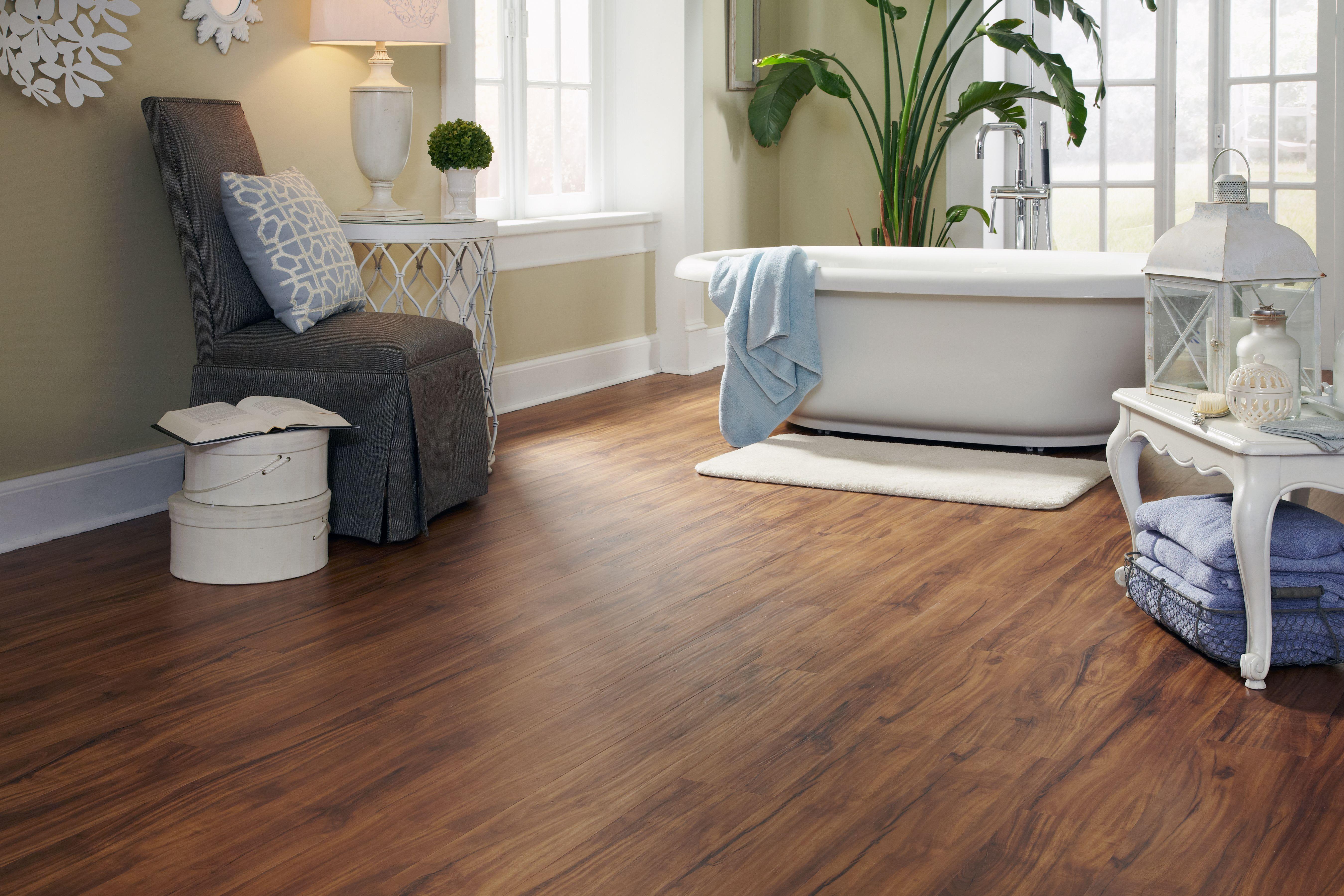 Tranquility Ultra 5mm Golden Teak Luxury Vinyl Plank Flooring - Lifetime Warranty