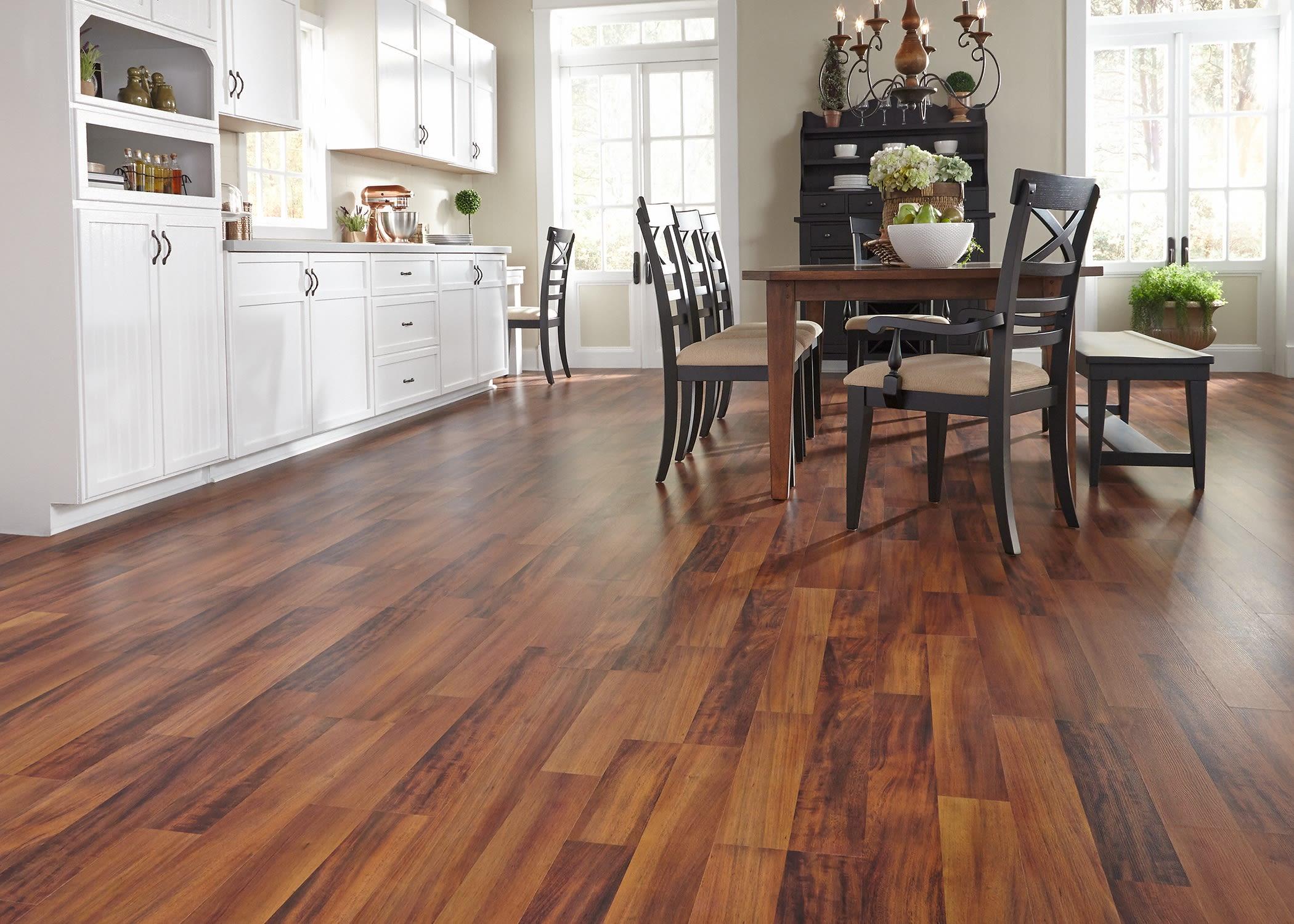 Bronzed Brazilian Acacia Laminate Flooring