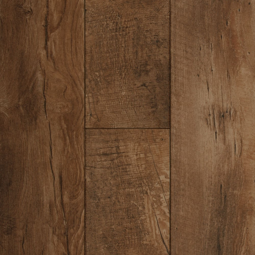48 in. x 8 in. Brass Haven Oak Porcelain Tile
