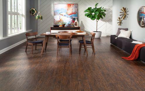 Riverside Hickory Laminate Flooring