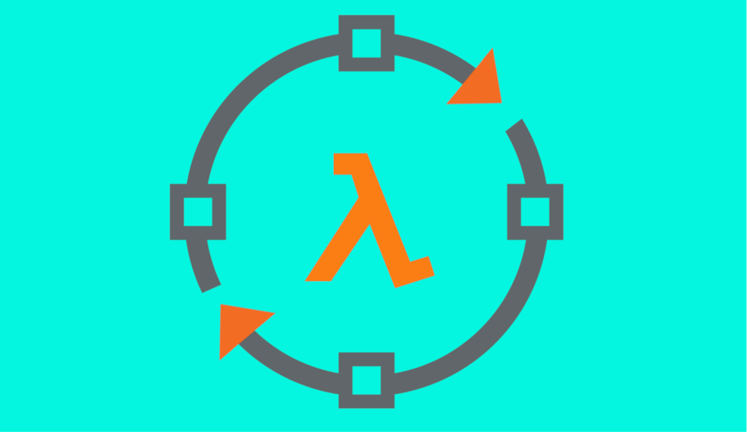 An image representing the circular flow of serverless development