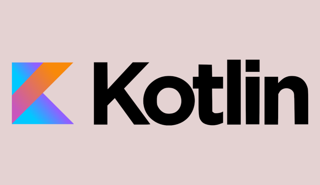 An image of the logo for the Kotlin programming language.