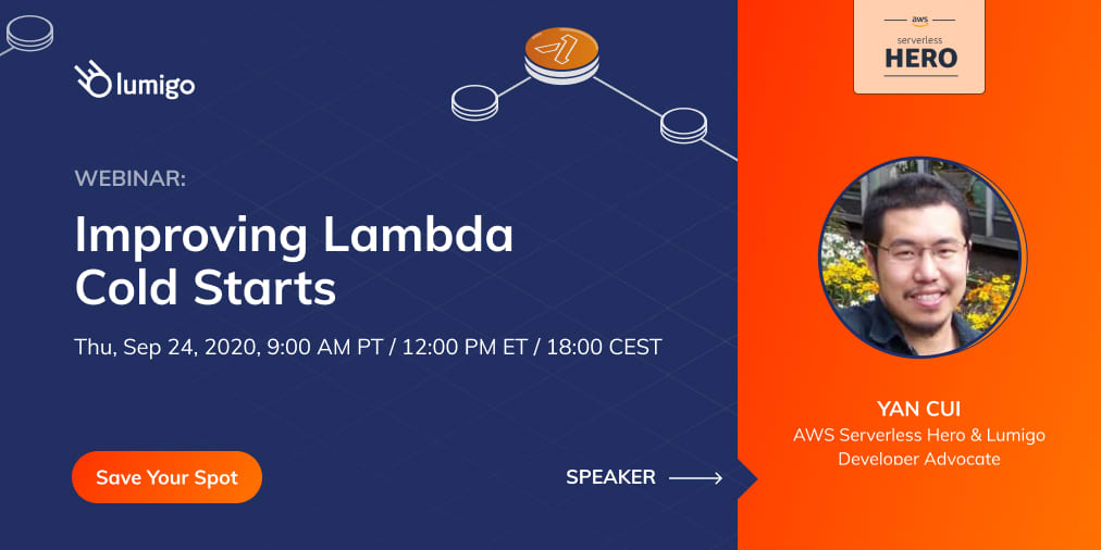 Webinar Improving Lambda Cold Starts