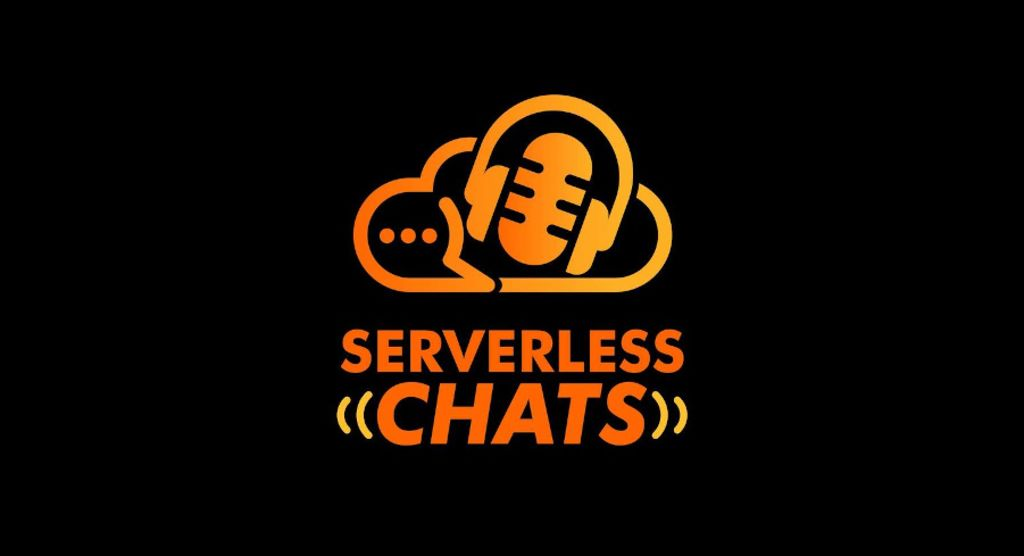 An image of the logo for the serverless chats podcast