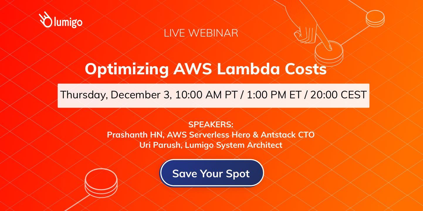 webinar lambda cost optimization