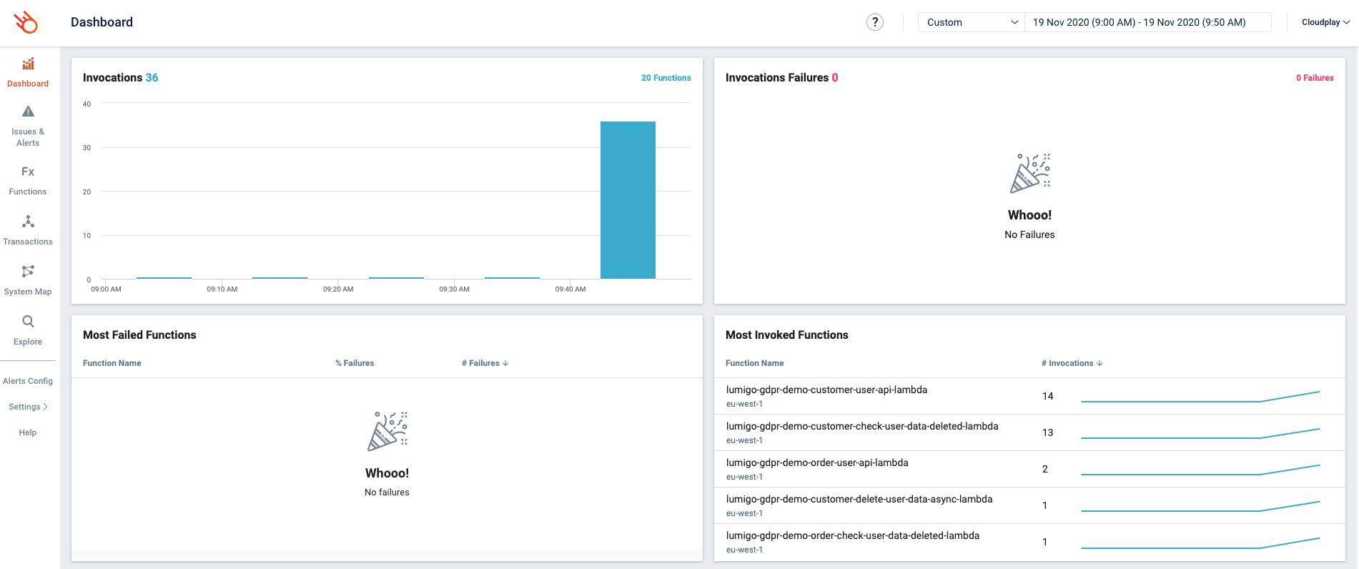 lumigo-gdpr-application-lumigo-dashboard