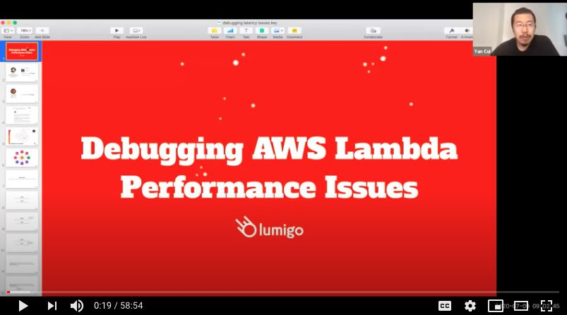 Debugging AWS Lambda Performance Issues