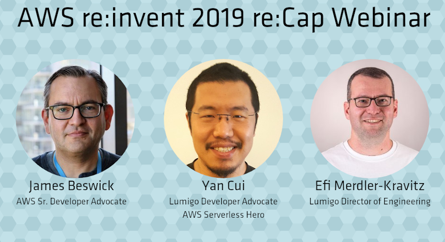 AWS re:invent Recap Webinar