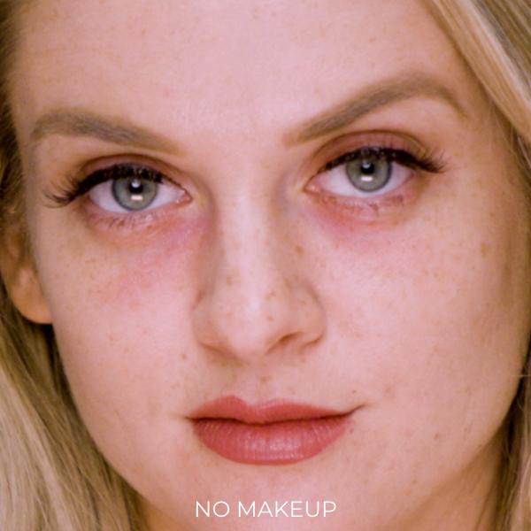 Before Breeze Airbrush Makeup Application