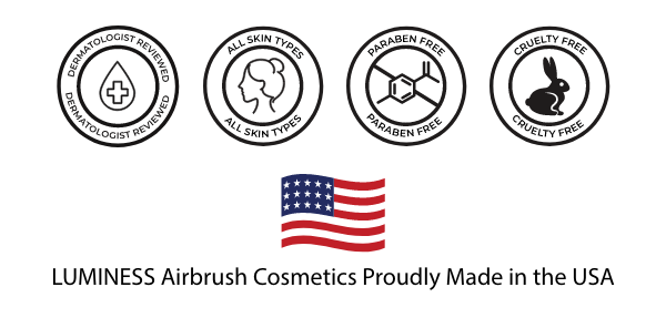 Badges: Dermatologist Reviewed, All Skin Types, Paraben Free, Cruely Free