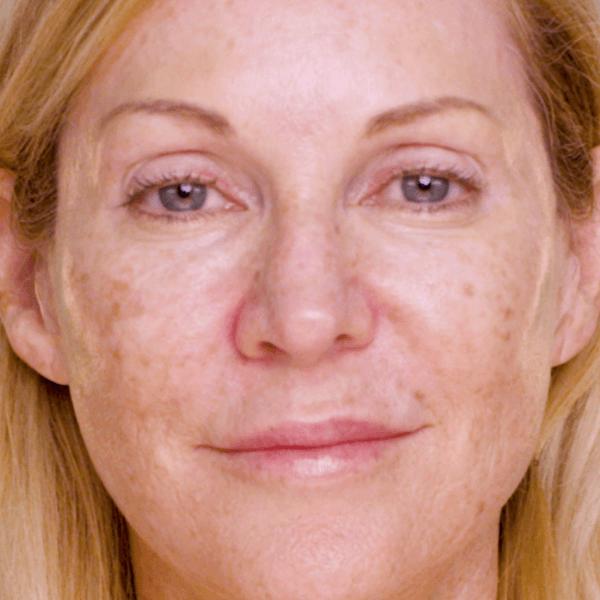 Before Airbrush Makeup Application