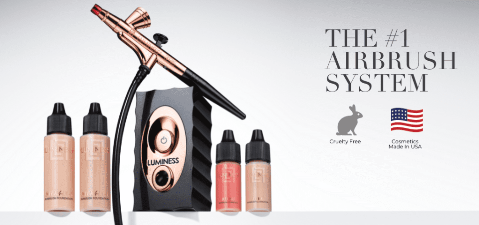 All in one, Simplify your makeup routine with our 4-in-1 Silk Airbrush Foundation formula, Ani-aging serum, Moisturizer, Concealer, Foundation