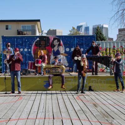 Photo of Delirium Street Party Brass