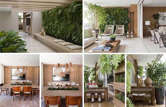 Jardim interno de Debora Aguiar