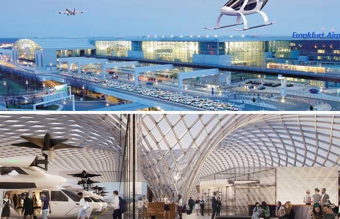 Tecnologia nos aeroportos do futuro