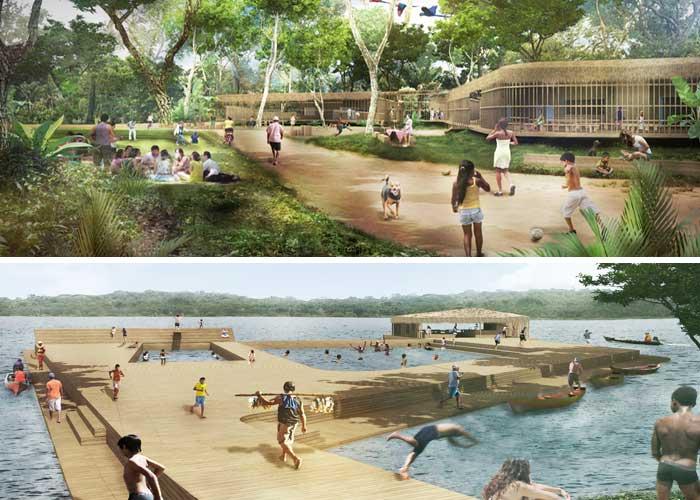 Projeto do Natureza Urbana em Juriti (PA)