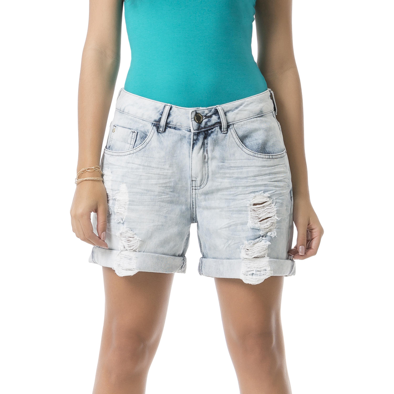 924e7cacb Bermuda Marmorizado Jeans « Lunender Store
