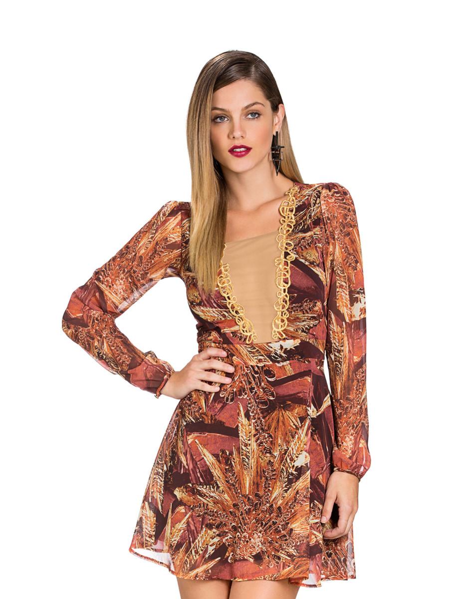 Vestidos com transparências de Nathália Dill – Tendência da Moda 2015