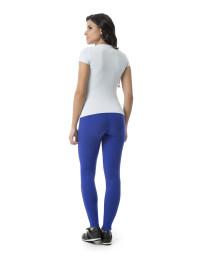 d3fc2d6f4 Blusa Básica Decote Fechado Azul « Lunender Store