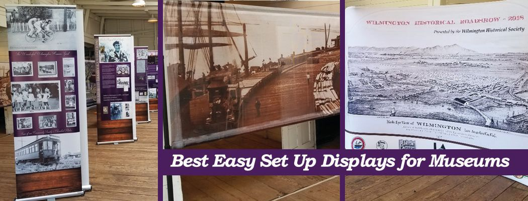 Best Easy Set Up Displays for Museums