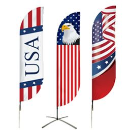 Buy American Flags Pre-Designed Online