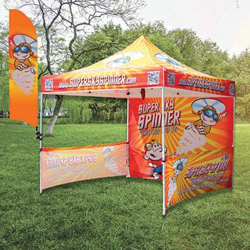 Bowhead Banners Canopy Display Options