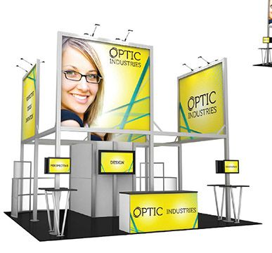 LED Backlit Modular Trade Show Displays