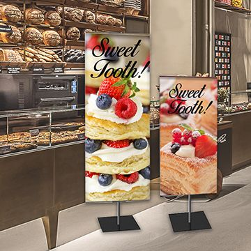 Classic Banner Stands Options