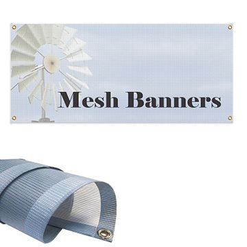 Custom Mesh Banner Options