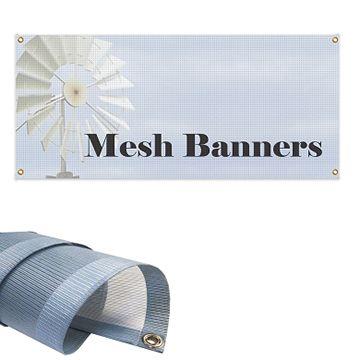 Custom Mesh Banner Options