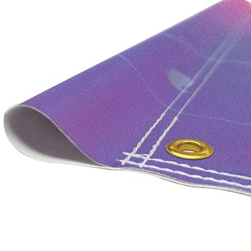 Custom Banners with Pole Pockets Option