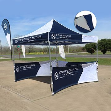 Custom Canopy Tents Double Sided Option