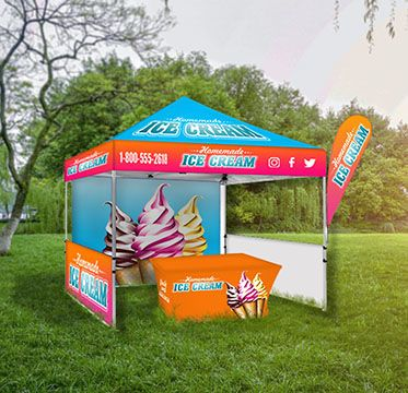 Custom Canopy Tents for Outdoor Events Options