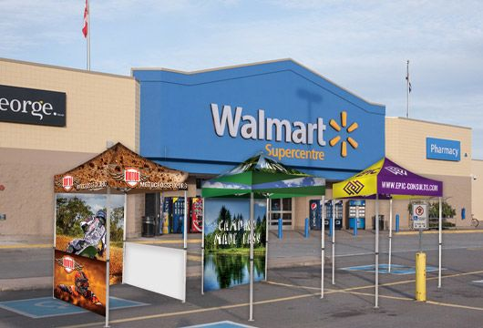 Custom Canopy Tents for Store Promotions Options