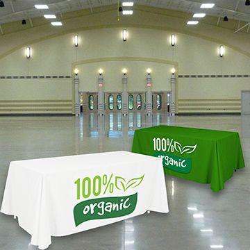 Custom Table Covers Standard Shape Option