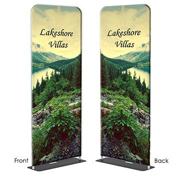 Double-Sided Options for Fabric Banner Stands